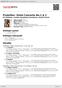 Digitální booklet (A4) Prokofiev: Violin Concerto No.1 & 2