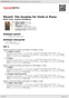 Digitální booklet (A4) Mozart: The Sonatas for Violin & Piano