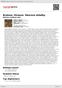 Digitální booklet (A4) Brahms, Strauss: Sborové skladby