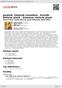 Digitální booklet (A4) Janáček: Zápisník zmizelého - Dvořák: Biblické písně - Smetana: Večerní písně
