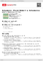 Digitální booklet (A4) Schumann: Písně Roberta Schumanna