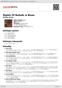 Digitální booklet (A4) Nights Of Ballads & Blues