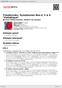 """Digitální booklet (A4) Tchaikovsky: Symphonies Nos.4, 5 & 6 """"Pathétique"""""""