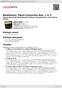 Digitální booklet (A4) Beethoven: Piano Concertos Nos.1 & 3