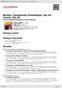 Digitální booklet (A4) Berlioz: Symphonie fantastique, Op.14; Tristia, Op.18