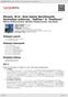 """Digitální booklet (A4) Mozart, W.A.: Eine kleine Nachtmusik; Serenatas notturna,  """"Haffner"""" & """"Posthorn"""""""