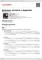 Digitální booklet (A4) Beethoven: Variations & Bagatelles