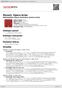 Digitální booklet (A4) Mozart: Opera Arias
