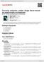 Digitální booklet (A4) Červená sukýnka a další. Hraje Karel Vacek se smyčcovým orchestrem