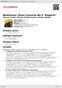 """Digitální booklet (A4) Beethoven: Piano Concerto No.5 """"Emperor"""""""