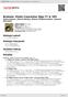 Digitální booklet (A4) Brahms: Violin Concertos Opp.77 & 102