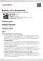 Digitální booklet (A4) Brahms: The 4 Symphonies