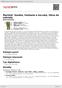 Digitální booklet (A4) Martinů: Sonáta, Fantazie a toccata, Okno do zahrady