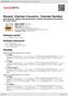Digitální booklet (A4) Mozart: Clarinet Concerto / Clarinet Quintet