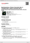 Digitální booklet (A4) Rachmaninov: Piano Concerto No.3 / Tchaikovsky: Piano Concerto No.1
