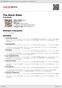 Digitální booklet (A4) The Black Rider