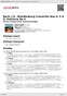 Digitální booklet (A4) Bach, J.S.: Brandenburg Concertos Nos.4, 5 & 6; Overture No.4