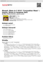 "Digitální booklet (A4) Mozart: Mass in C K317 ""Coronation Mass"" / Haydn: Missa in tempore belli"
