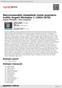 Digitální booklet (A4) Nejvýznamnější skladatelé české populární hudby Angelo Michajlov 1 (1964-1970)