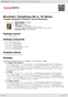 Digitální booklet (A4) Bruckner: Symphony No.1; Te Deum