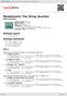 Digitální booklet (A4) Mendelssohn: The String Quartets