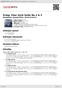 Digitální booklet (A4) Grieg: Peer Gynt Suite No.1 & 2