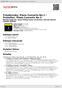 Digitální booklet (A4) Tchaikovsky: Piano Concerto No.1 / Prokofiev: Piano Concerto No.3