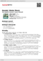 Digitální booklet (A4) Handel: Water Music