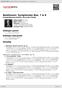 Digitální booklet (A4) Beethoven: Symphonies Nos. 7 & 8