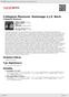 Digitální booklet (A4) Collegium Musicum. Hommage a J.S. Bach