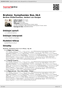 Digitální booklet (A4) Brahms: Symphonies Nos.3&4