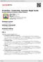 Digitální booklet (A4) Prokofiev: Cinderella; Summer Night Suite