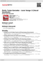 Digitální booklet (A4) Party Tyme Karaoke - Love Songs 3 [Vocal Versions]