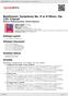 "Digitální booklet (A4) Beethoven: Symphony No. 9 in D Minor, Op. 125 ""Choral"""