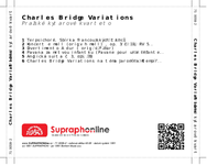 Zadní strana obalu CD Charles Bridge Variations