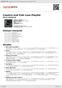 Digitální booklet (A4) Country and Folk Love Playlist