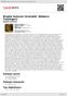 Digitální booklet (A4) Brigita Šulcová (Scarlatti, Webern, Tausinger)