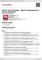 Digitální booklet (A4) Party Tyme Karaoke - Adult Contemporary 5 [Vocal Versions]
