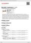 Digitální booklet (A4) Martinů: Symfonie č. 3, 4