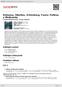 Digitální booklet (A4) Debussy, Sibelius, Schönberg, Faure: Pelleas a Melisanda