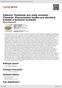 Digitální booklet (A4) Železný: Symfonie pro malý orchestr - Flosman: Koncertantní hudba pro dechový kvintet a komorní orchestr