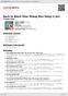 Digitální booklet (A4) Back to Black Shui Shang Ren Deng Li Jun