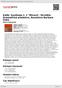 """Digitální booklet (A4) Kálik: Symfonie č. 1 """"Mírová"""", Strniště: Dramatická předehra, Rozmluva Barbara Voka"""