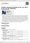 """Digitální booklet (A4) Dvořák: Smyčcové kvartety G dur, op. 106 a F dur, op. 96 """"Americký"""""""