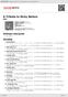 Digitální booklet (A4) A Tribute to Ricky Nelson
