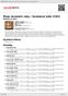Digitální booklet (A4) Moje nevšední roky / Zavěšený kafe (CD2)