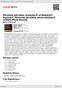 Digitální booklet (A4) Pěvecké sdružení pražských učitelek/Jiří Vyskočil, Pěvecké sdružení severočeských učitelů/Alois Škarka