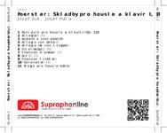Zadní strana obalu CD Foerster: Skladby pro housle a klavír I, II