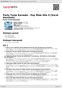 Digitální booklet (A4) Party Tyme Karaoke - Pop Male Hits 9 [Vocal Versions]