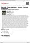 Digitální booklet (A4) Martinů: České madrigaly - Britten: Cantata academica